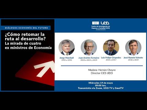 Diálogos Economía del Futuro: ¿Cómo retomar la ruta al desarrollo? La mirada de cuatro exministros