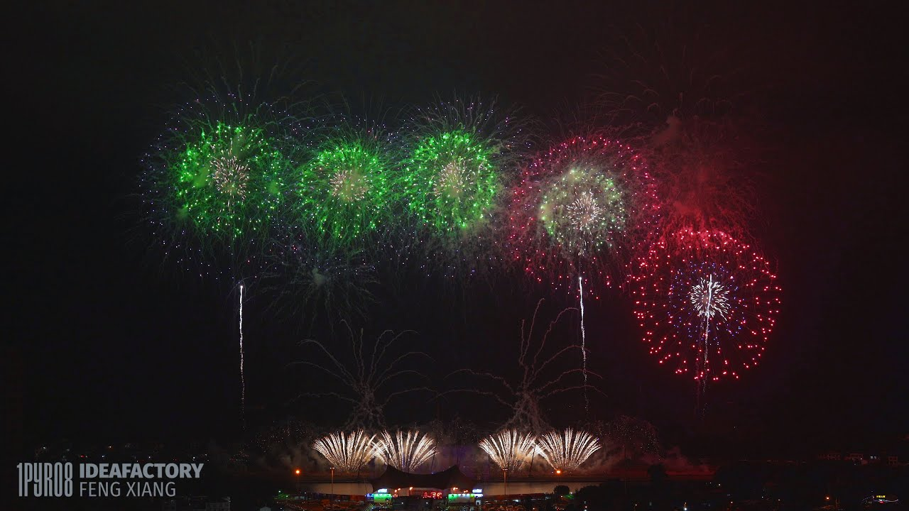 China Party Hard @ LFC 2020 - Intense opening fireworks display!