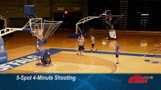 5 Spot 4-Minute Shooting by UB Nate Oats