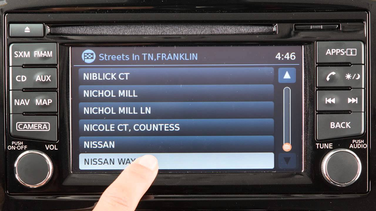 2016 nissan juke - navigation button - youtube