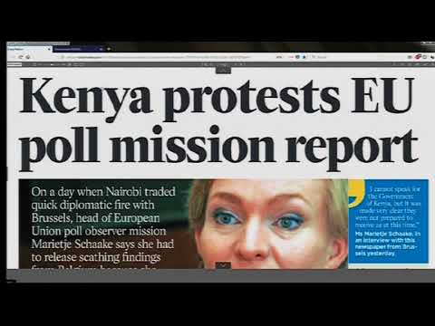 Power Breakfast News Review: Kenya protests EU poll mission report