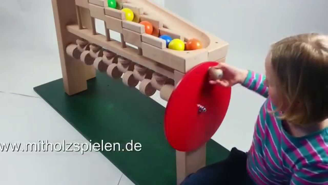 KUGELWERK - eine mechanische KADEN KUGELBAHN / ROLLING BALL SCULPTURE