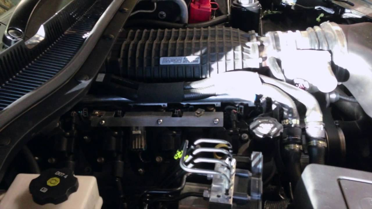 VF Holden Commodore Supercharger - Walkinshaw