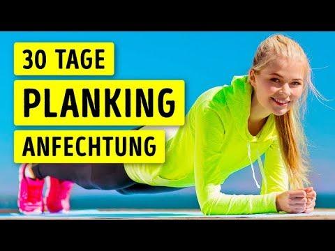 Jeden Tag Planking Für Einen Monat Sieh Was Mit Deinem Körper