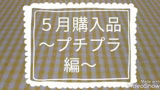 5月購入品~プチプラ編~♥️
