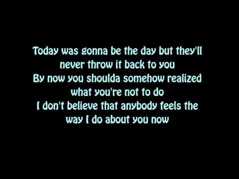 Oasis - Wonderwall  (Lyrics)