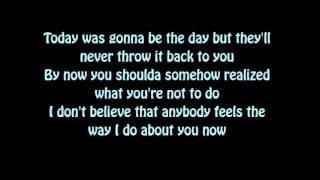 Oasis - Wonderwall   Lyrics