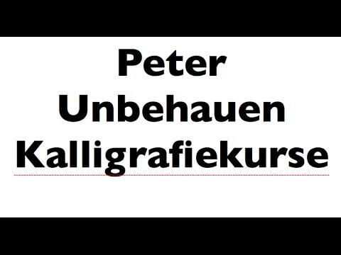 �� peter unbehauen eine neue handschrift doovi