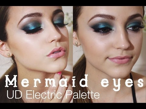 UD Electric Palette Tutorial- Smokey Teal Eyes