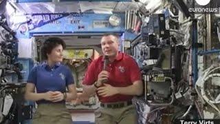 NASA Astronaut tells Truth about Moon landing