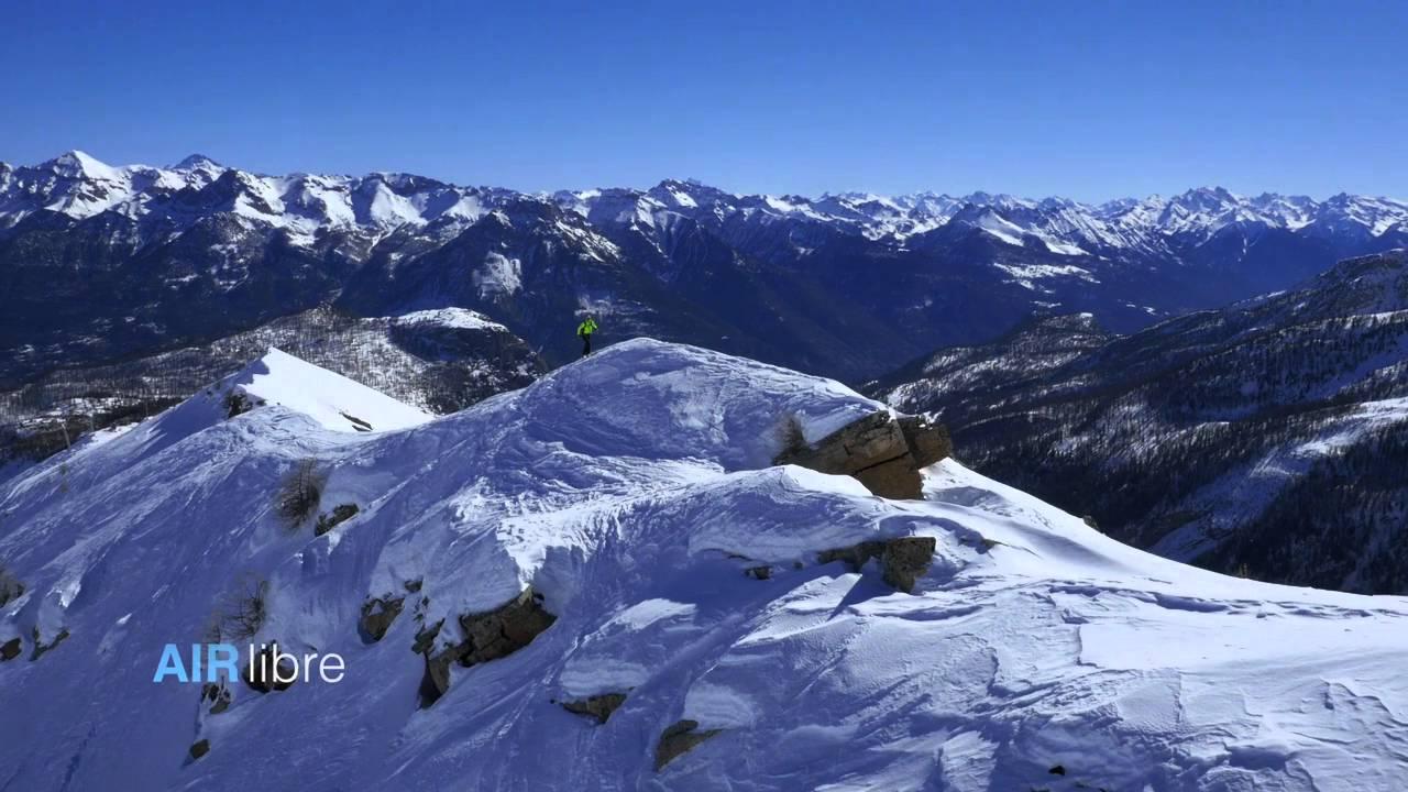 Les Alpes vues du ciel - YouTube
