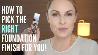 HOW TO CHOOSE THE PERFECT FINISH FOR YOUR HOLY GRAIL FOUNDATION 40+||