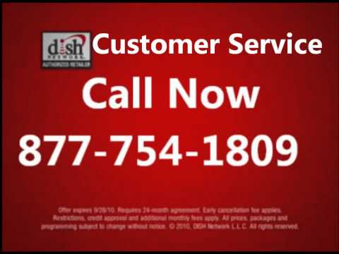 DISH NETWORK CUSTOMER SERVICE PHONE NUMBER
