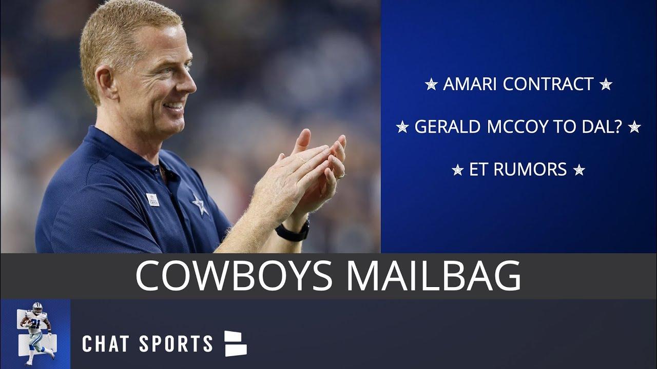 2986eaecfe0 Cowboys Mailbag: Amari Cooper Contract, Gerald McCoy, Possible Cap Cuts & Earl  Thomas Rumors. Dallas Cowboys Report