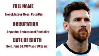 Messi vs Cristiano lifestyle