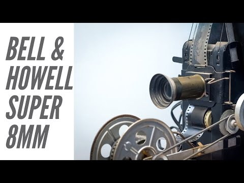 Bell & Howell Super 8mm Projector!