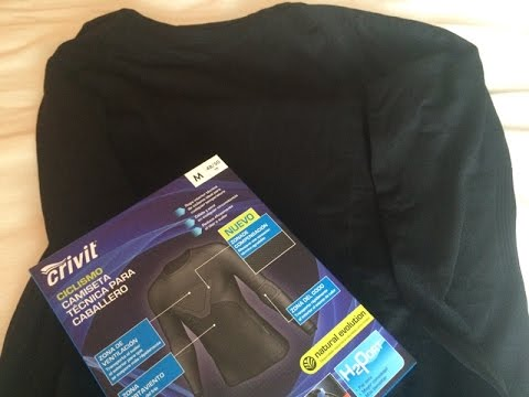 Crivit Functional Thermal T Shirt Youtube