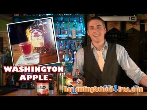 How to make the Washington Apple Shooter (with Crown Royal)