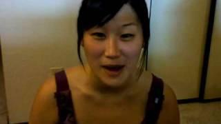 Chinese girl sings Pakistan Qaumi Tarana