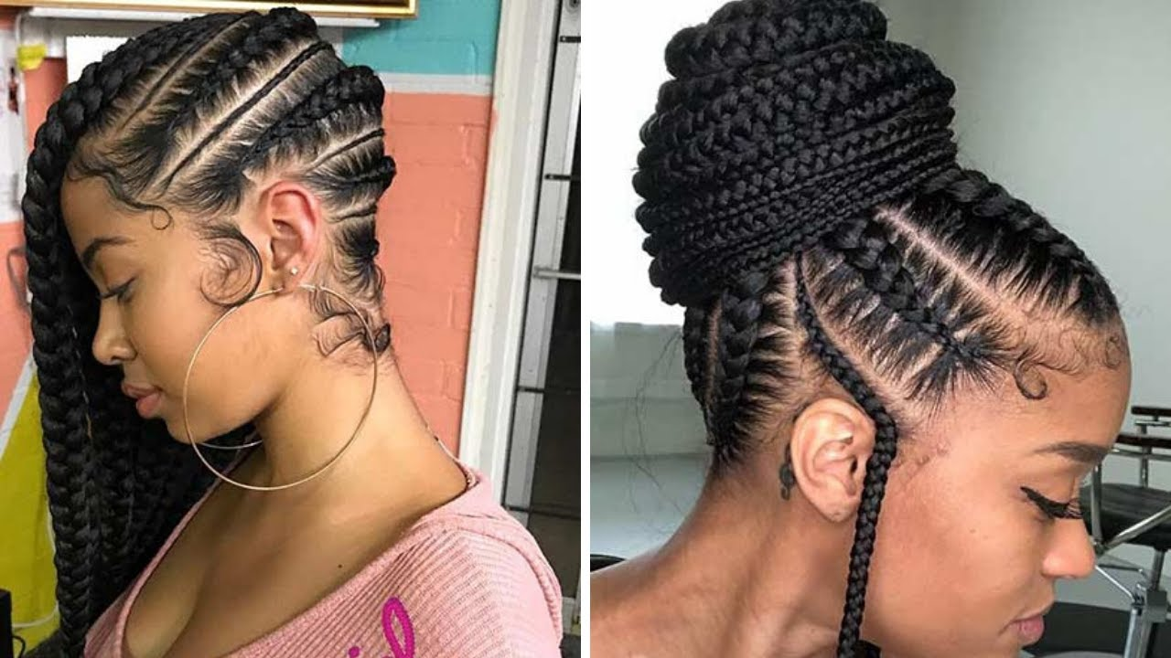 Braid Hairstyles With Weave 2020 That Will Turn Heads Youtube
