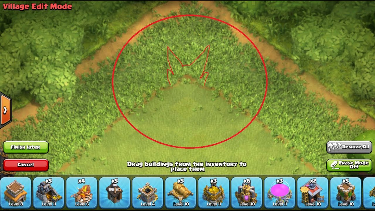 Clash Of Clans Head With Horns Satanic Symbol In The Latest