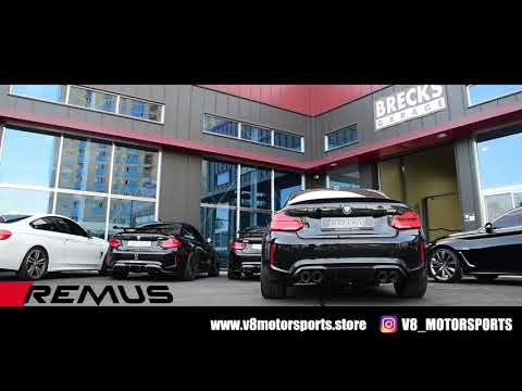 11-2019 BMW M2 Competition F87N REMUS SPORTEXHAUST (BMW M2 레무스 스포츠 배기)