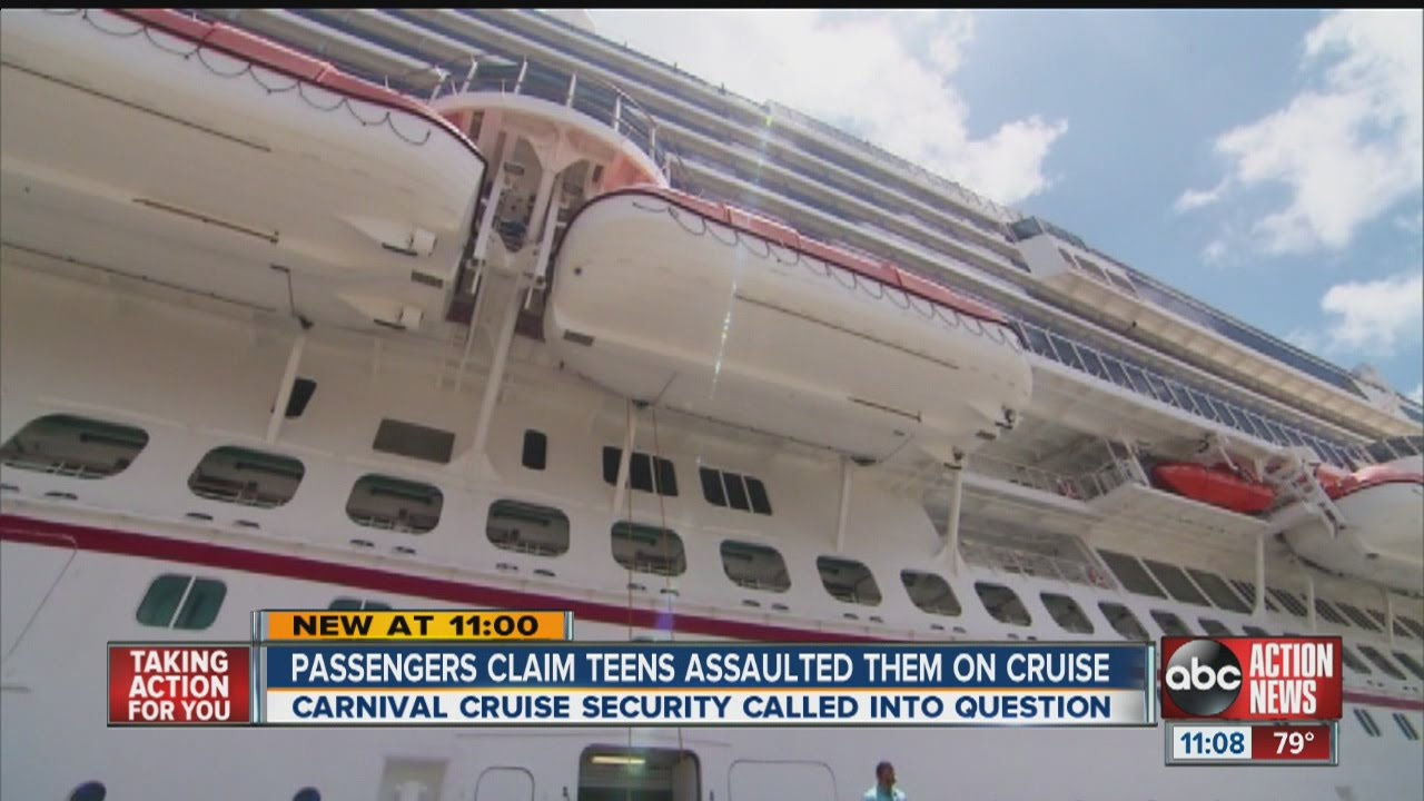 Teens Terrorize A Floor On A Carnival Cruise Ship YouTube - Cruise ships for teens