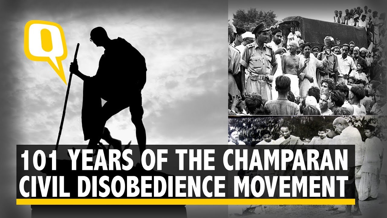 A 100 Years On, Revisiting Champaran Satyagraha - YouTube Non Violent Resistance Satyagraha