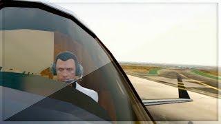 GTA 5 ONLINE - INSANE PLANE LANDING!