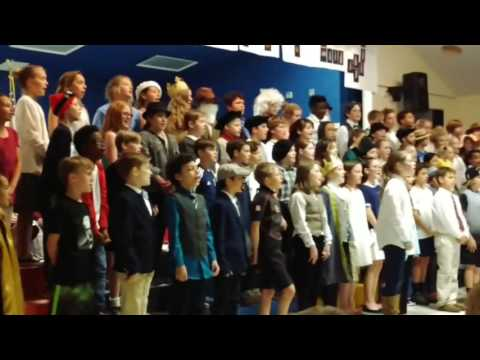Ma mère m' envoie-t-au marché | Robious Elementary School | International Day
