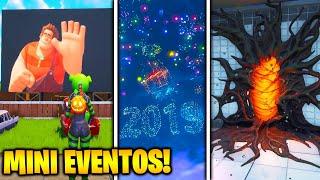 TODOS los MINI EVENTOS de FORTNITE en ESTE VÍDEO!! 😱 EVENTOS de 2 MINUTOS o MENOS 🌌😍
