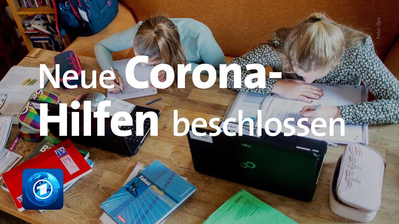 Bundestag billigt weitere Corona-Hilfen für Familien und Firmen