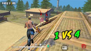 Unbelievable Dragunov Solo vs Squad OverPower Gameplay - Garena Free Fire