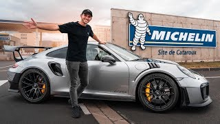 Porsche GT2 RS Roadtrip | Wie wird ein Rennreifen hergestellt? | Daniel Abt