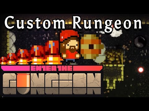 Enter the Gungeon | GIANT INVISIBLE BEES!!! | Custom Rungeon