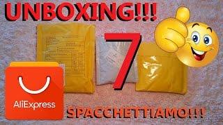 ALIEXPRESS unboxing n°7, spacchettiamo insieme