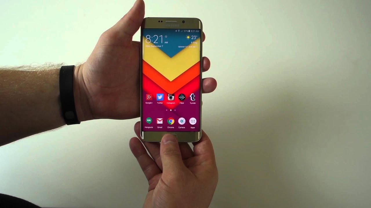 How to Take Screenshot in your Samsung Galaxy S6 Edge Plus