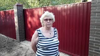 видео Кованые заборы – изящные линии стиля