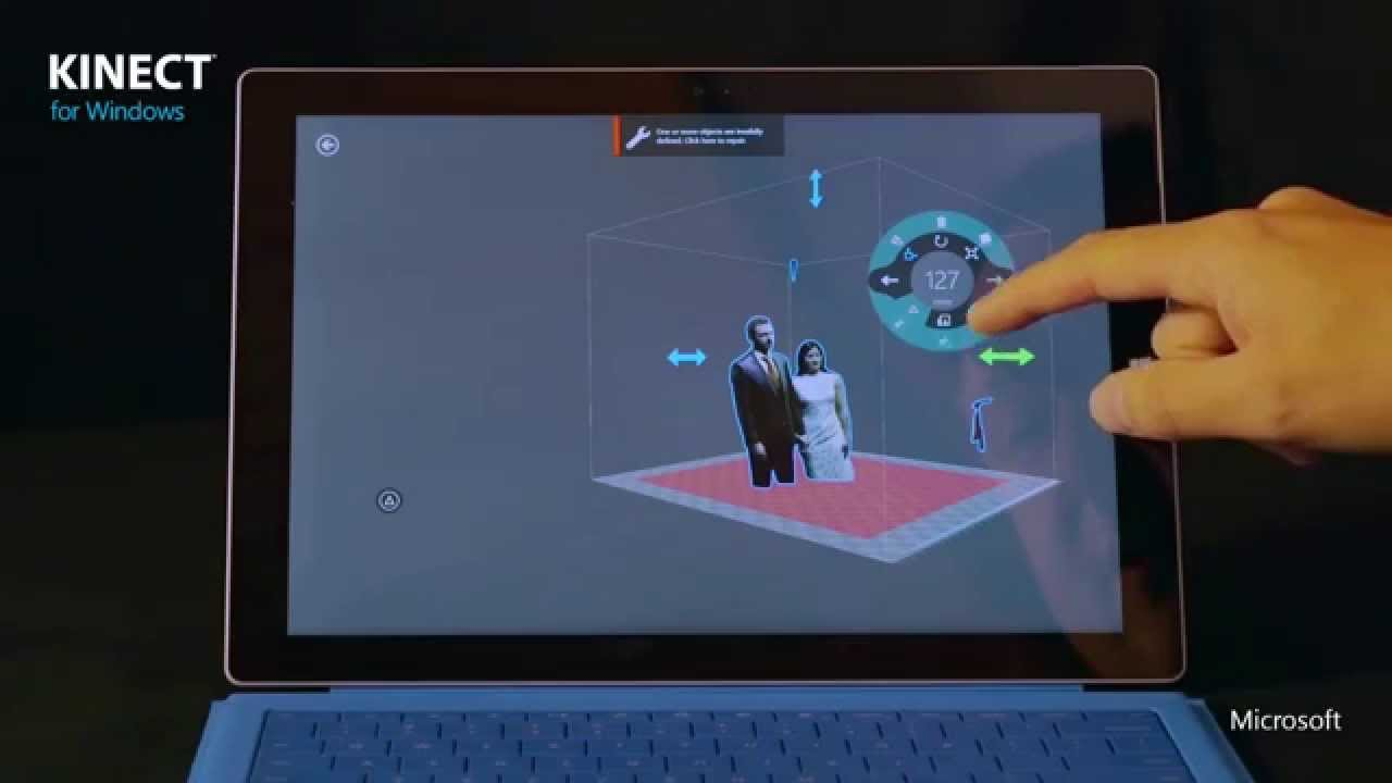 3d Builder App Kinect Youtube