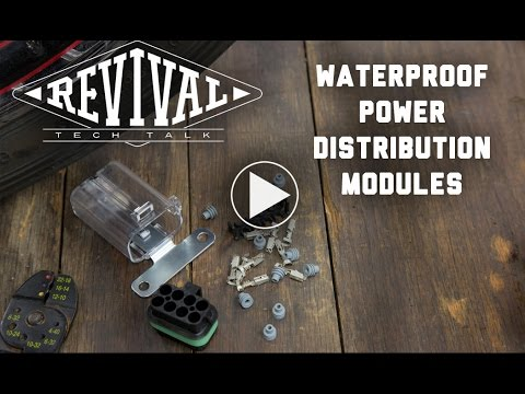 Waterproof Power Distribution Modules - Revival Cycles' Tech Talk