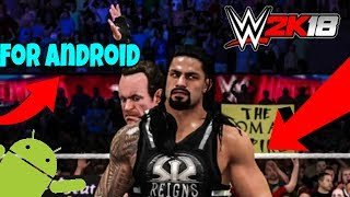 (50MB)How to Download WWE2k18 50MB Highly compressed Game APK for android Only 50MB APK