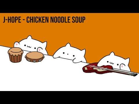 """Bongo Cat - J-hope """"Chicken Noodle Soup"""" (K-POP)"""