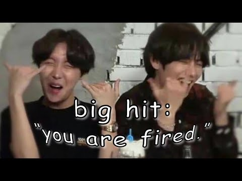 BTS Moments That Makes Big Hit Want To Fire Them