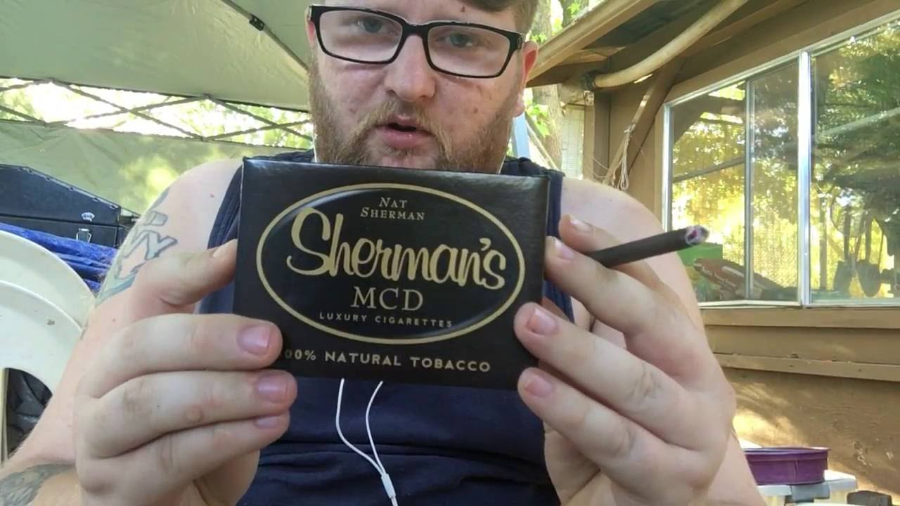 nat sherman luxury cigarettes review youtube