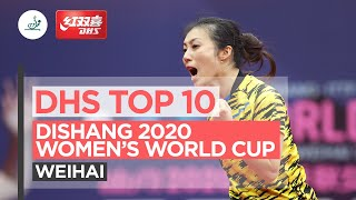 DHS Top 10 Points | Dishang 2020 ITTF Women's World Cup