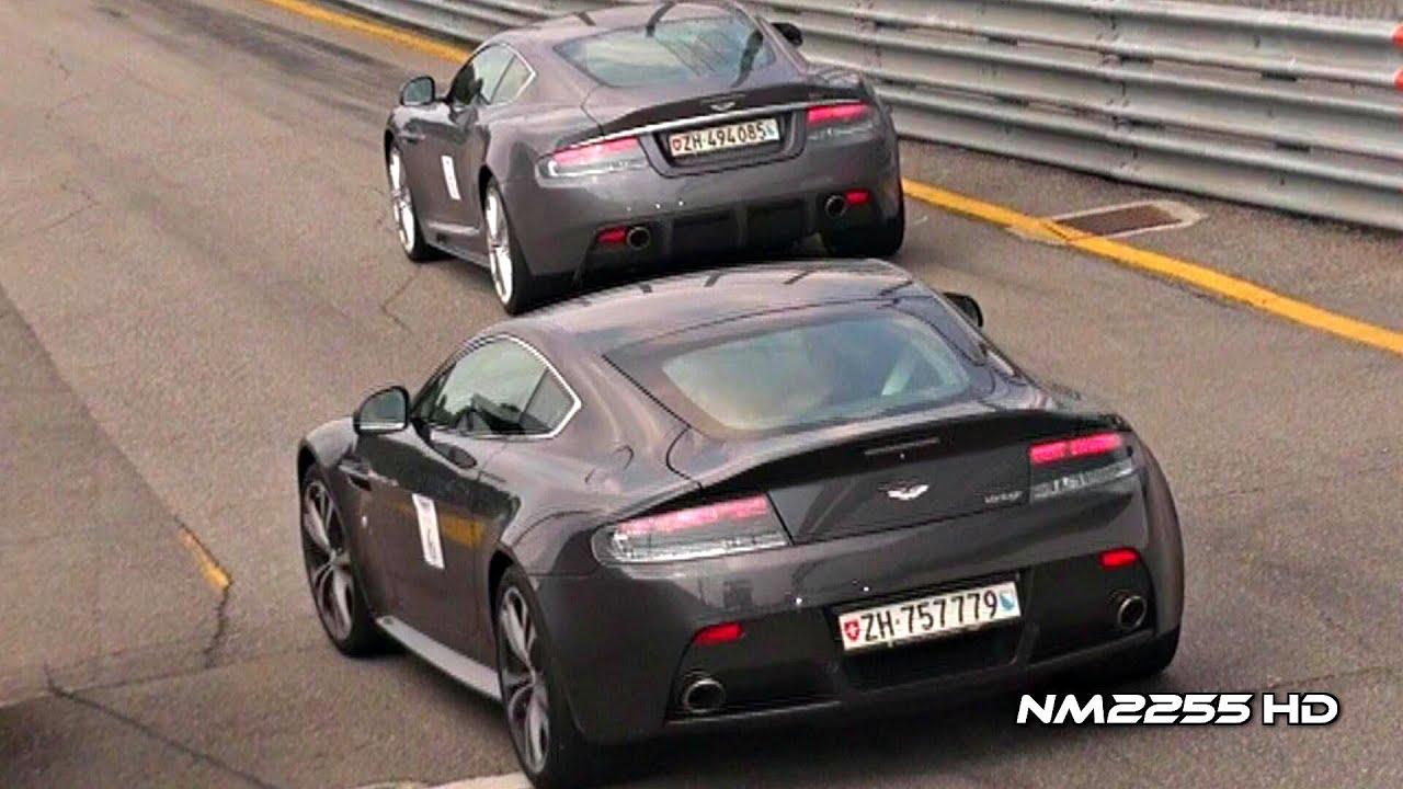 V12 Aston Martin Engine Sounds Compilation Youtube