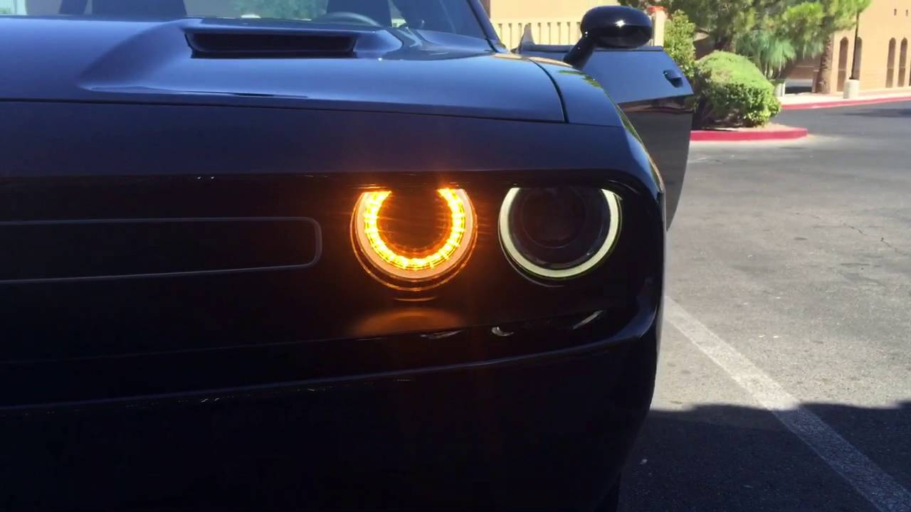 Dodge Challenger Daytime Running Lights