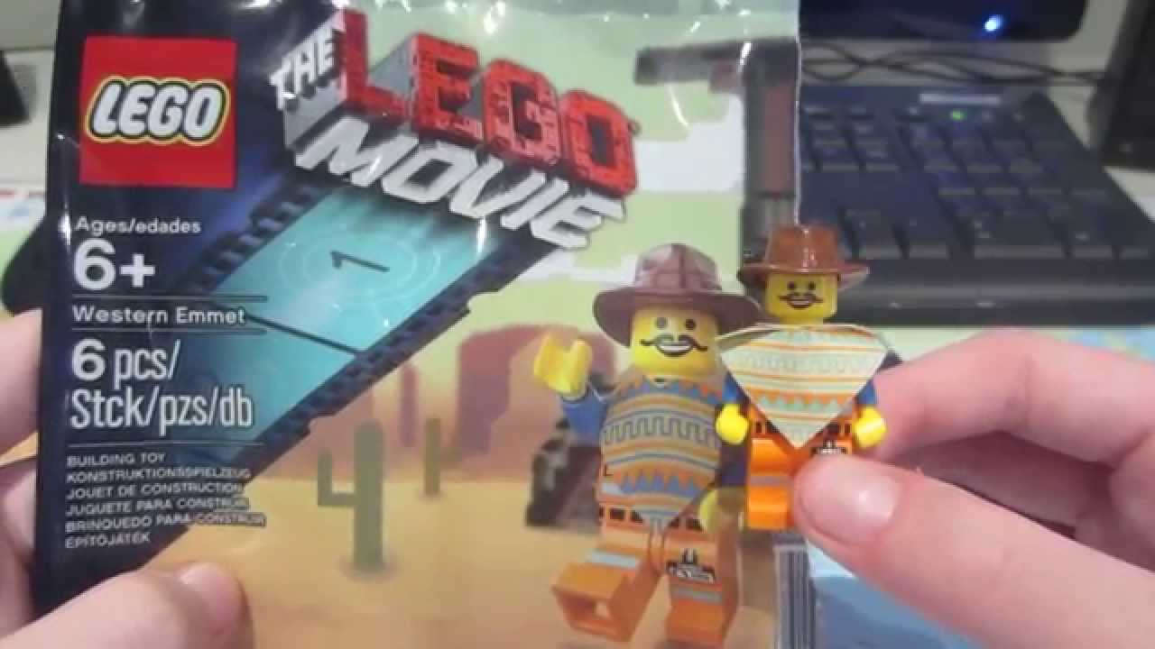 The Minifigure Lego Review Movie Emmet Poly Bag Western 2IYeDbWEH9