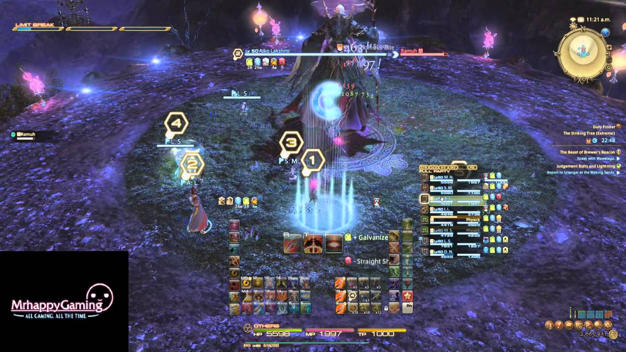 FFXIV ARR: Ramuh (Extreme) Boss Guide