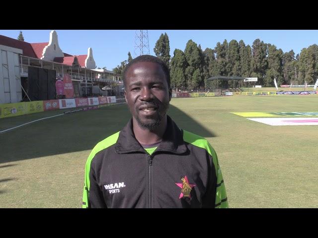 Donald Tiripano Interview | Zimbabwe vs Bangladesh | Only Test